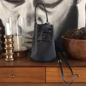 Brand New Marc by Marc Jacobs Black Bucket Bag